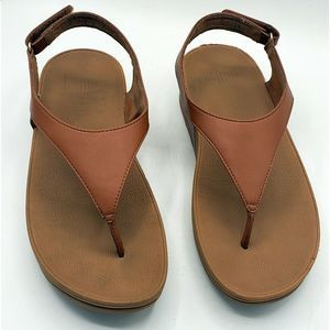 FitFlop Shoes - FitFlop Skylar Tan Thong Sandals Size 9 MSRP $100.